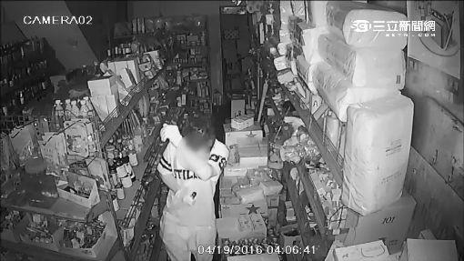 賊爬牆偷商店 警等嫌犯理髮輕鬆逮