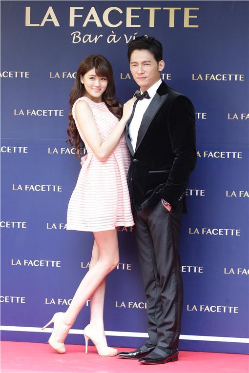 溫昇豪經營餐廳 「La Facette酒窩」開幕記者會
