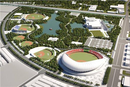 賴清德,台南亞太國際棒球訓練中心,劉培森,統一獅,蘇泰安,台南市立棒球場