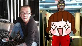 ▲無尾熊遇上正妹飼養員。(圖/翻攝自Cheng Han Yang臉書)