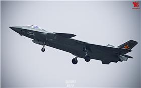 大陸隱形機殲-20 翻攝自環球網 http://mil.huanqiu.com/photo_china/2015-09/2796463.html