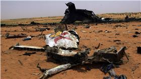 蘇丹軍機墜毀/路透社/達志影像