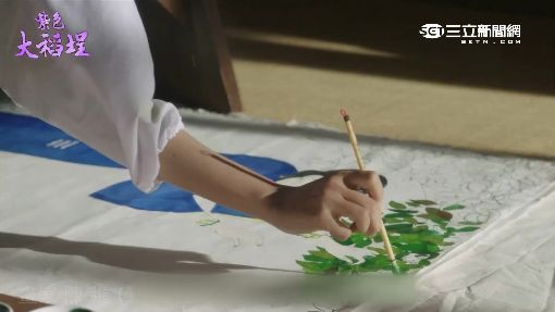 """""""紫色大稻埕""""重現風華 演員秀繪畫天份"""