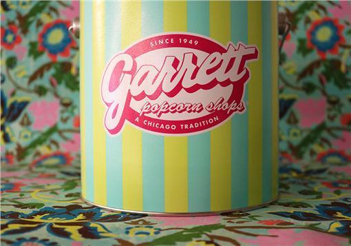 美國芝加哥的經典品牌Garrett爆米花。(圖/Garrett爆米花提供)