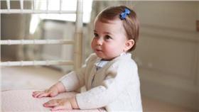 夏綠蒂,生日,公主,英國,凱特 圖/翻攝自Kensington Palace Twitter