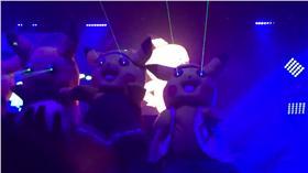 日本網友發現台灣夜店有皮卡丘(圖/翻攝Kztk__2推特)