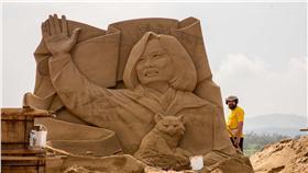 2016福隆國際沙雕藝術季,即將在本週末開跑。(圖/福容大飯店提供)