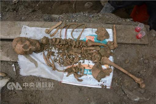 花蓮下水道挖出人骨 證實是千年靜浦文化遺跡(中央社)