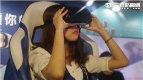 三星 Gear VR 4D體驗椅 葉立斌攝