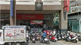 台中市西屯區河南路二段的台新銀行/google map