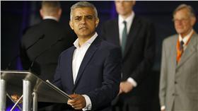 倫敦市長薩迪克汗(Sadiq Khan)(圖/美聯社/達志影像)