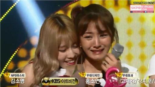 TWICE 圖/翻攝自Skpb K-Music Live [KBS] YouTube