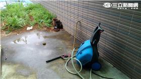 25歲男遭洗車機電擊昏迷 送往淡水馬偕急救(翻攝畫面)