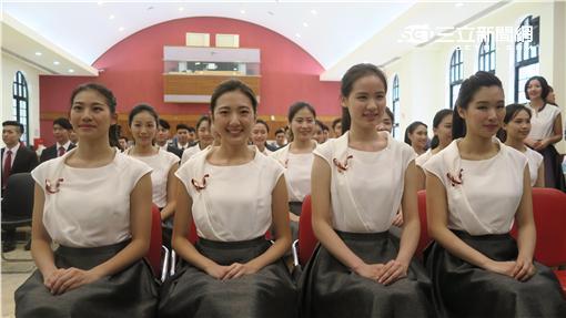520禮賓人員。記者盧素梅攝
