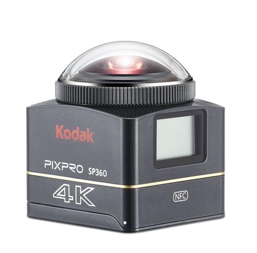 ▲上山下海就帶它 Kodak 4K全景VR攝影機登場(圖/Kodak)