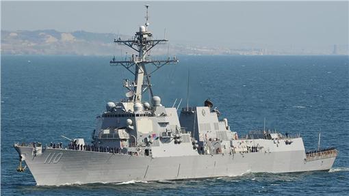 美軍,南海,USS William P. Lawrence,圖/維基百科