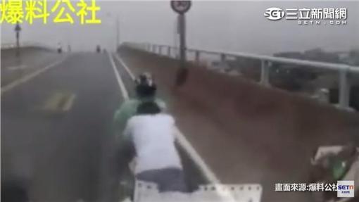 澎湖溫暖男(圖/翻攝自爆料公社影片)