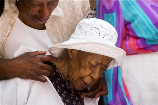 世界最老人瑞,全世界在世最老人瑞瓊斯(Susannah Mushatt Jones)▲(圖/達志影像/路透社)