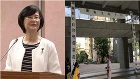 羅瑩雪/資料照、台大抗議布條/PTT