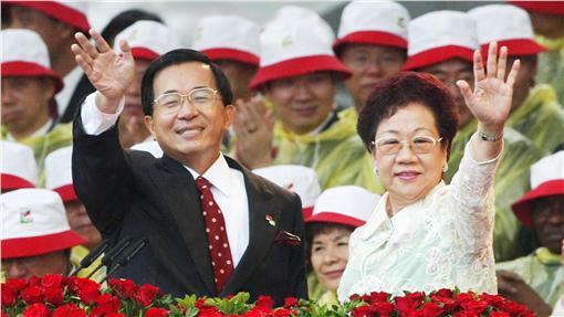 陳水扁2004年就職 圖/路透社/達志影像