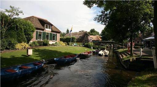 荷蘭羊角村▲圖/維基百科