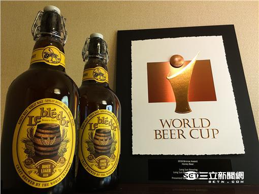 全球近兩千酒廠爭勝 金色三麥靠台灣的這個奪獎