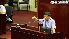 ▲市長柯文哲赴議會專案報告(圖/北市府提供)
