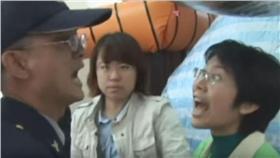 林岱樺、學運、打警察/翻攝自YouTube