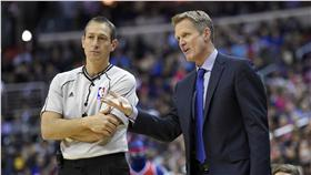 Steve Kerr,NBA裁判(ap)