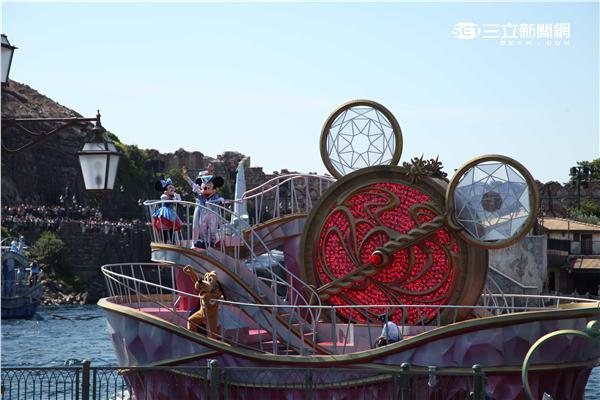 東京迪士尼海洋15週年。(圖/記者簡佑庭攝影)