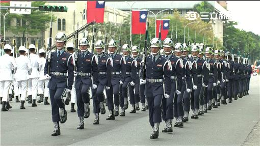 520總統就職典禮 儀隊表演