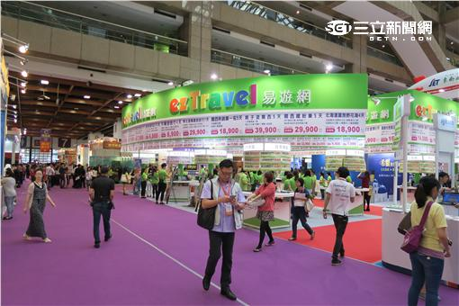 台北國際觀光博覽會。(圖/記者簡佑庭攝影)