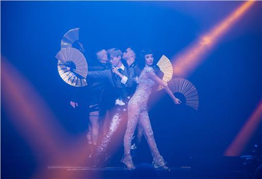 蔡依林「Play世界巡迴演唱會」嘉賓李宇春/華納提供