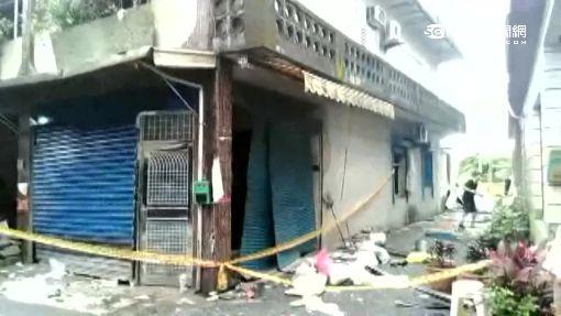 宜蘭民宅氣爆 七旬老翁:開燈就爆炸