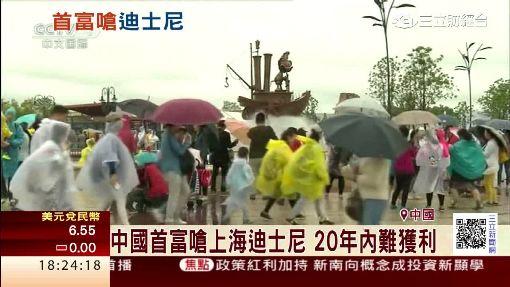 中國首富嗆上海迪士尼 20年內難獲利