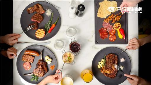 台北W飯店the kitchen table西餐廳推出「無肉不歡 週二肉遇」之夜。(圖/台北W飯店提供)