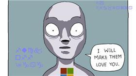 漫畫諷刺Windows 10更新通知 (圖/翻攝自Reddit)