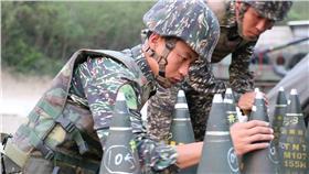 海軍陸戰隊虎斑迷彩_國防部發言人臉書
