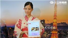 EZTABLE線上餐廳訂位服務與日本一休網站策略合作。(圖/記者簡佑庭攝影)