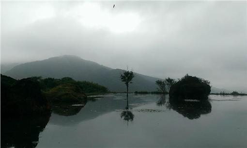 八煙聚落、水中央(圖/翻攝自八煙聚落臉書)