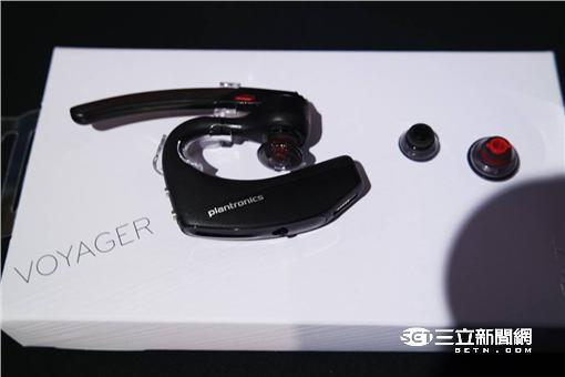 ▲繽特力兩大旗艦新品 Voyager 5200 與 BackBeat GO 3 隆重登台 無線不再是音質受損的代名(圖/李鴻典攝)