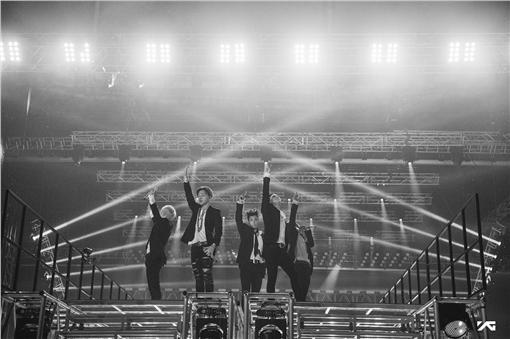 ▲BIGBANG來台開唱。(圖/翻攝自BIGBANG臉書)