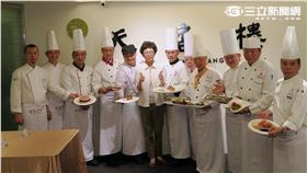 台灣美食展「主廚帶路」活動。(圖/記者簡佑庭攝影)