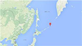 千島群島/google map