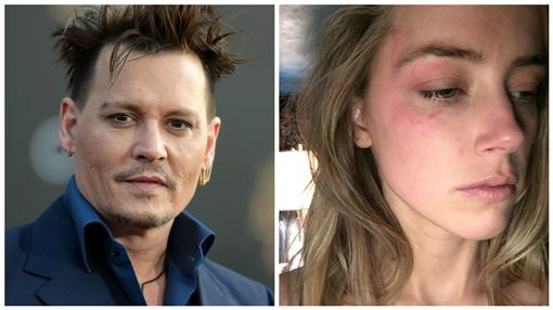 強尼戴普(Johnny Depp)和其妻子(圖/翻攝自Twitter)