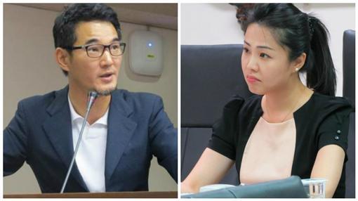 前新北市議員的李婉鈺曾和民進黨立委劉建國(圖/翻攝自臉書、資料照)