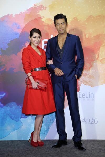 余秉諺和老婆王依蕾 (圖/翻攝自余秉諺 Lance Yu臉書)