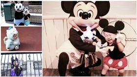 迪士尼,disney,disneybaby,寶寶,孩子,日本,衣服,服裝,娃娃,米奇,毛怪,tiahy__,扮裝,裝扮,可愛,寶貝-翻攝自tiahy__ IG