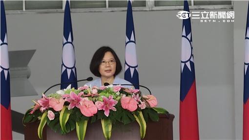 蔡英文總統視察花蓮佳山基地。記者盧素梅攝
