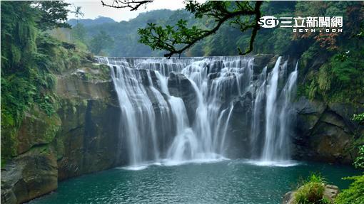 新北十分瀑布公園。(圖/新北市觀光旅遊局提供)